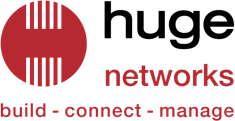 Huge Networks Logo - colour
